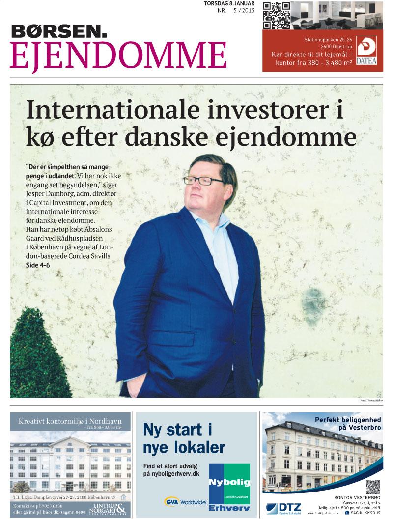 Internationale investorer i kø efter danske ejendomme 1