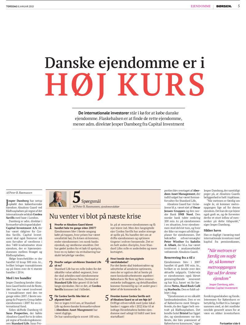 Internationale investorer i kø efter danske ejendomme 3