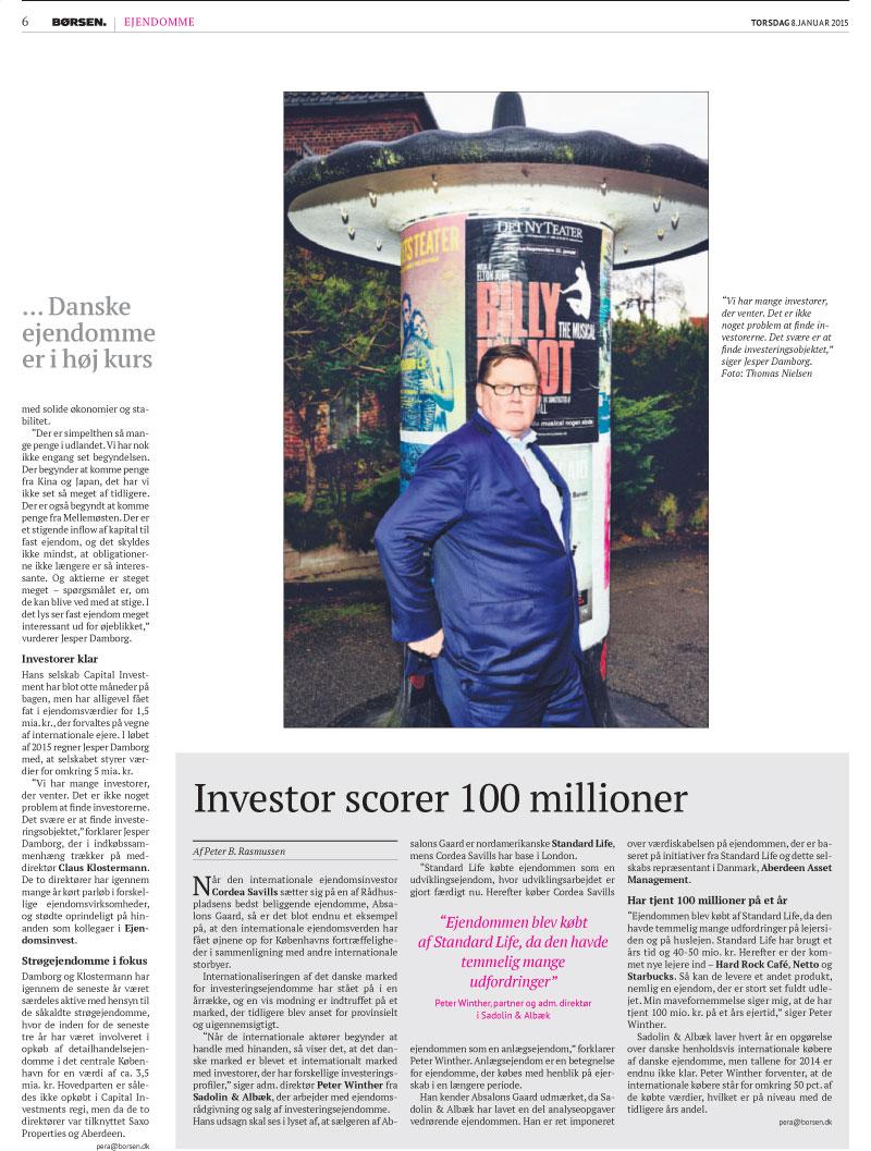 Internationale investorer i kø efter danske ejendomme 4